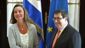 La UE y Cuba fortalecen sus relaciones mientras EEUU embarga