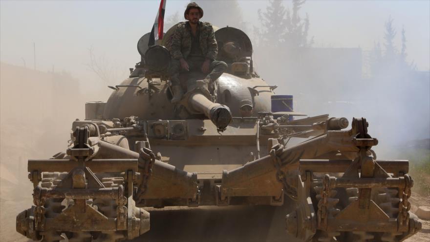 Ejército sirio entra en ciudad clave en bastión rebelde de Guta