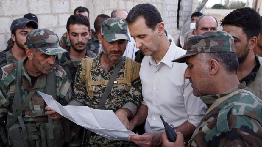 EEUU no ve factible salida de Al-Asad, 'ganador de guerra en Siria'
