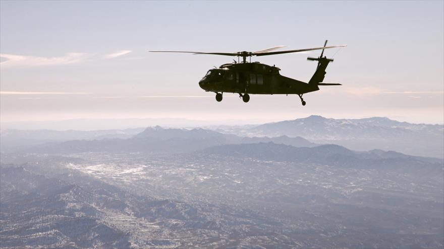 Mueren 7 militares de EEUU al estrellarse su helicóptero en Irak | HISPANTV