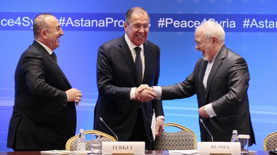 Comunicado de Astaná urge respetar la soberanía nacional de Siria