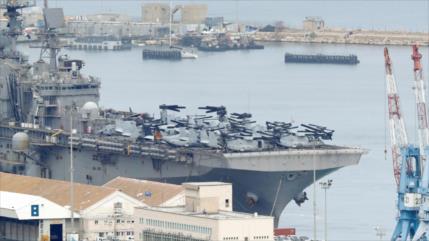 EEUU envía portahelicópteros a Haifa ¿para guerra con El Líbano?