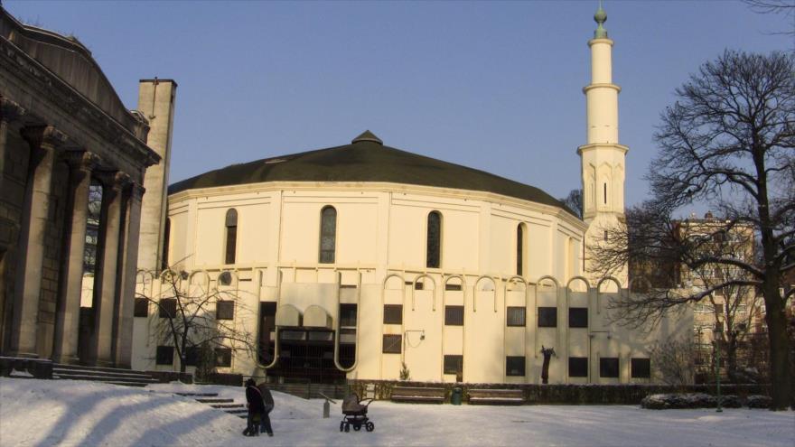 La Gran Mezquita de Bruselas, en Bélgica.