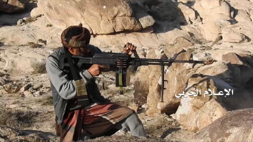 Un francotirador del Ejército de Yemen.