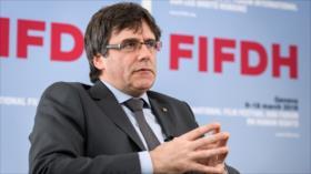 Puigdemont entona mea culpa por suspender independencia catalana