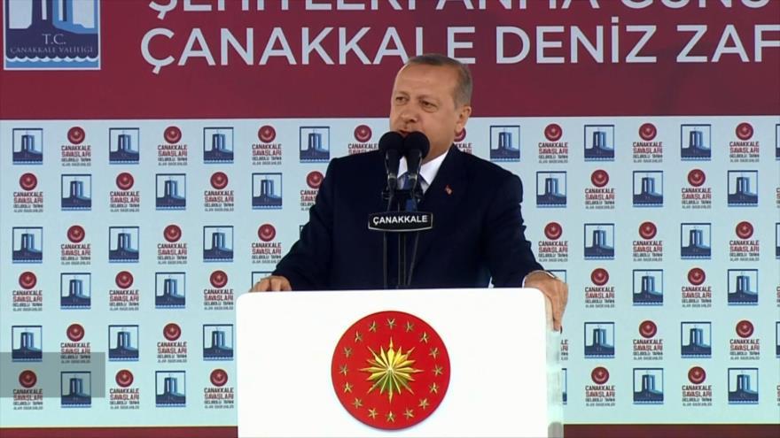 Erdogan anuncia la toma del centro de la ciudad siria de Afrin