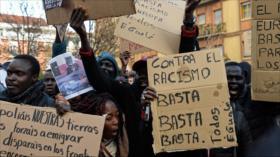 Africanos de Madrid denuncian el racismo del Gobierno español