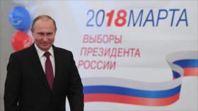 Sondeo a pie de urna: Putin reelecto en Rusia con 73,9 % de votos