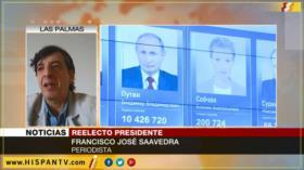 'Putin gana elecciones por su lucha antiterrorista y patriotismo'