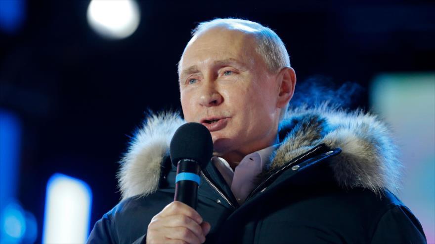 Putin: poco sensato volver a política de cañoneras en América Latina