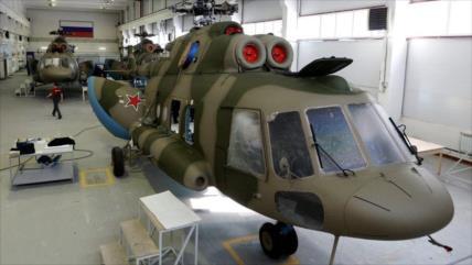 Foto: Rusia despliega en Siria un moderno helicóptero militar