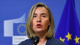 Mogherini: Nuevas sanciones a Irán no están sobre la mesa de UE