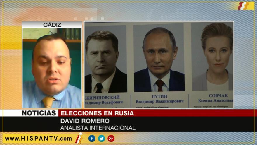 'Nación rusa decide preservar su soberanía e identidad con Putin'