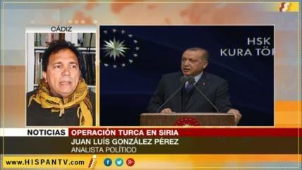 'Erdogan intenta evitar autonomía kurda en su frontera con Siria'