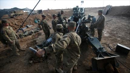 EEUU establece una base militar en zona rica en petróleo de Siria