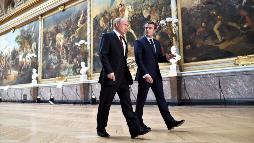 Violentos disturbios en protestas contra las reformas económicas de Macron — Francia