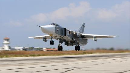 Rusia reinicia sus ataques aéreos contra terroristas en Idlib