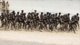 Ejercicio de fuerzas iraquíes en aniversario de invasión de EEUU