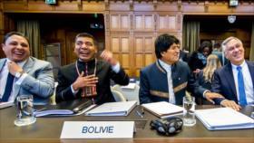 Morales destaca 'contundencia' en defensa de Bolivia en La Haya
