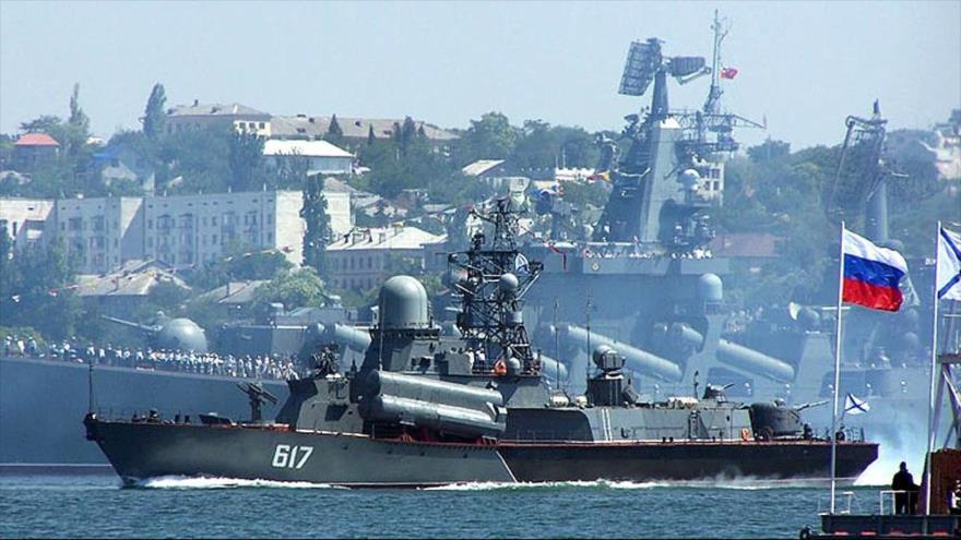 Rusia arma buques 'activos en Siria' con nuevos misiles antisubmarinos