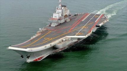 China envía portaaviones 'Liaoning' al estrecho de Taiwán