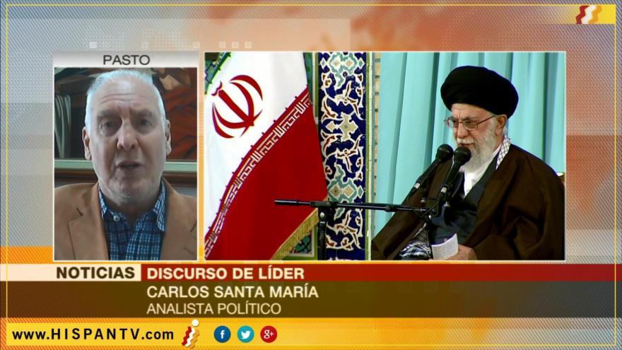 'Líder iraní denuncia injerencia de EEUU en asuntos de Oriente Medio'