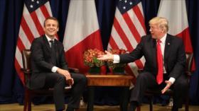 Trump y Macron acuerdan tomar medidas antirrusas por caso Skripal