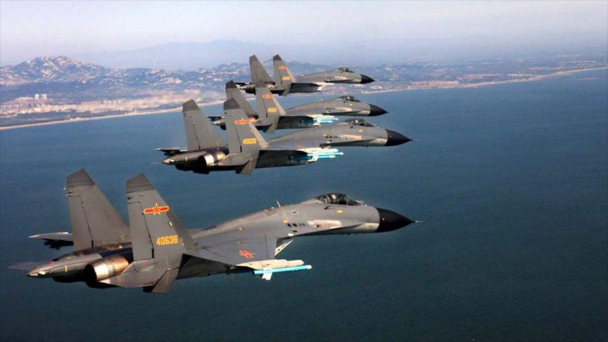 'China prepárate para una confrontación bélica con Taiwán y EEUU'