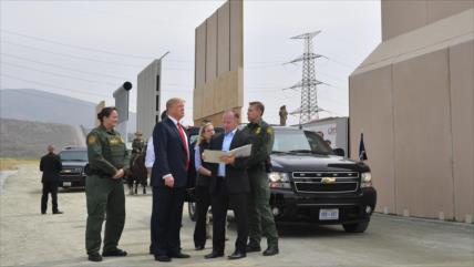 Trump usa fondos venezolanos retenidos para construir su muro