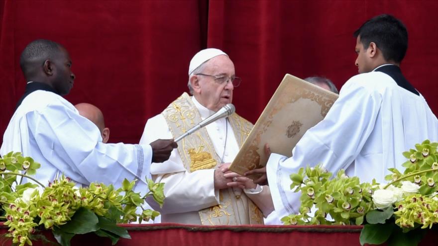 Papa Francisco pide el fin del 'exterminio' en Siria