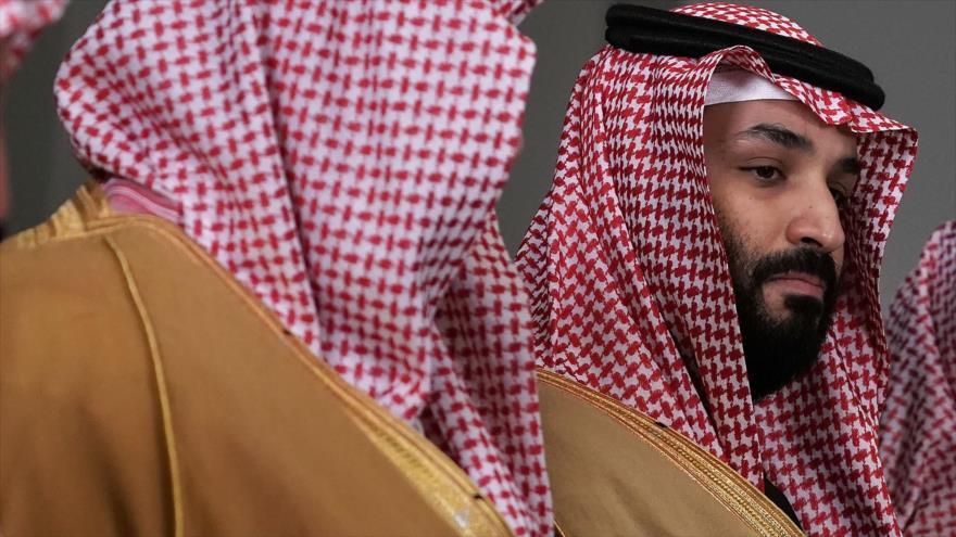 El príncipe heredero saudí, Mohamad bin Salman, en un acto oficial en en Washington, 22 de marzo de 2018.