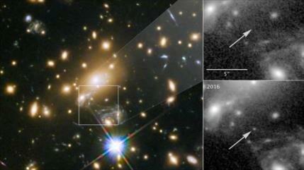Foto: Astrónomos captan la estrella más lejana jamás observada