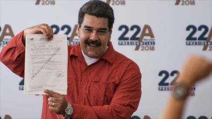 Piden nulidad de candidatura de Maduro por inconstitucionalidad
