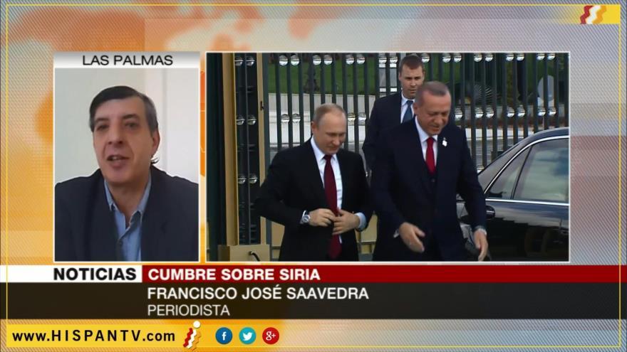 'Irán, Rusia y Turquía son las tres claves para la paz en Siria'