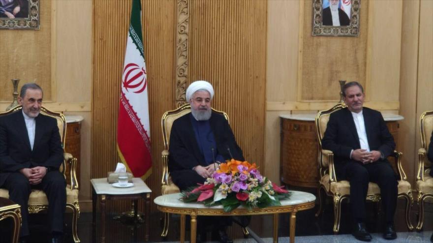 Irán fustiga apoyo de EEUU e Israel a terroristas en Siria