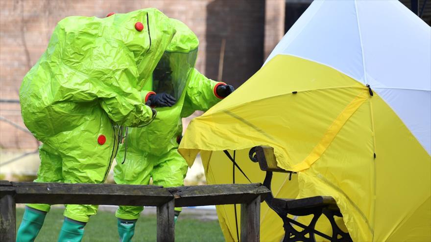 Reino Unido fracasa en probar que gas neurotóxico vino de Rusia