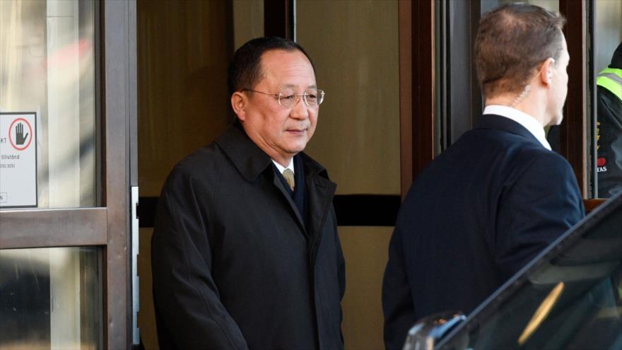 Cancilller norcoreano visitará Rusia tras un viaje a China