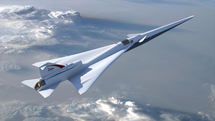 Nuevo avión de NASA atravesará sin ruido la barrera del sonido | HISPANTV