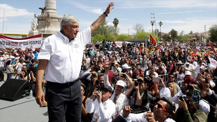 """López Obrador: México no será """"piñata"""" de ningún gobierno"""