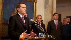 Rusia alerta de nueva 'crisis de misiles de Cuba' por caso Skripal
