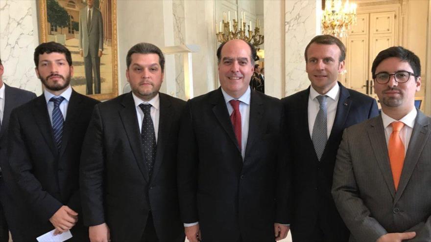 Califica Maduro de 'sicario' al presidente francés Macron