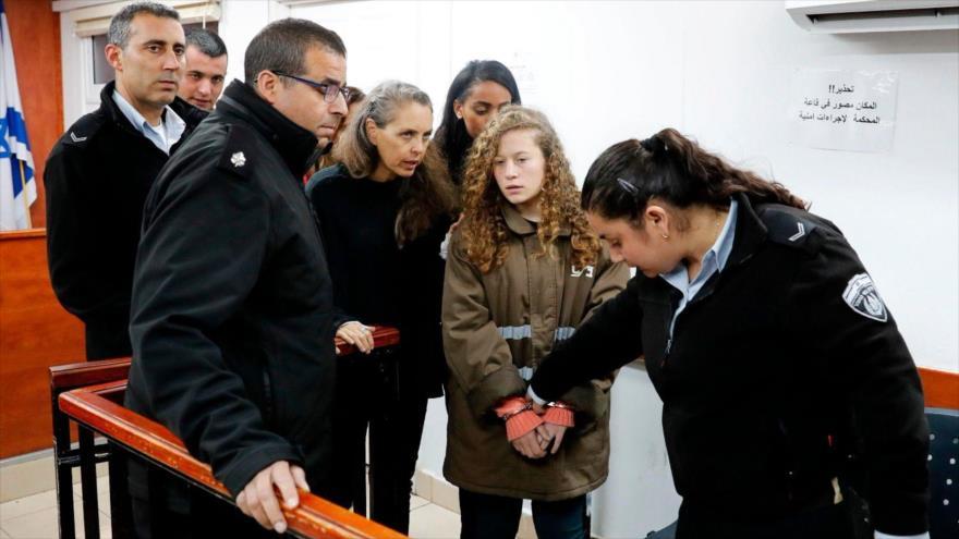 'Ahed Tamimi, víctima de acoso sexual en cárceles de Israel' | HISPANTV