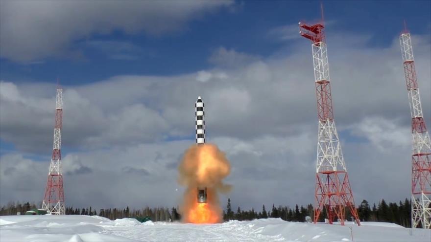 EEUU revela 2 pruebas 'fallidas' de misiles rusos de propulsión nuclear