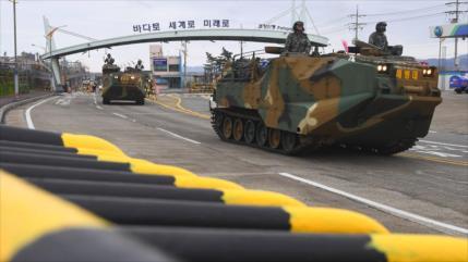 Rusia pide fin 'inmediato' de actividades militares EEUU y Seúl