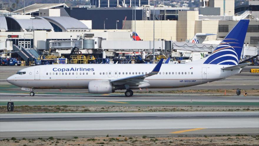Un avion de la Compañía Panameña de Aviación (Copa Airlines).