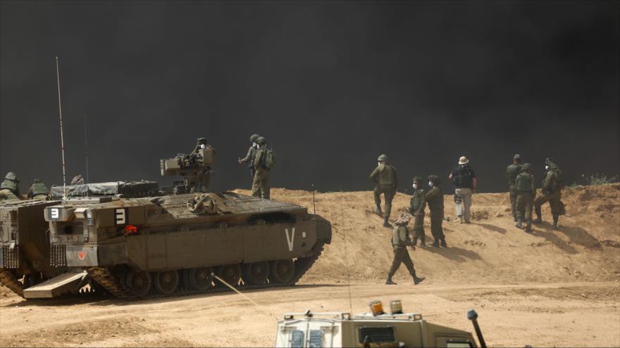 Represión israelí en lindes de Gaza deja 10 muertos y 1000 heridos