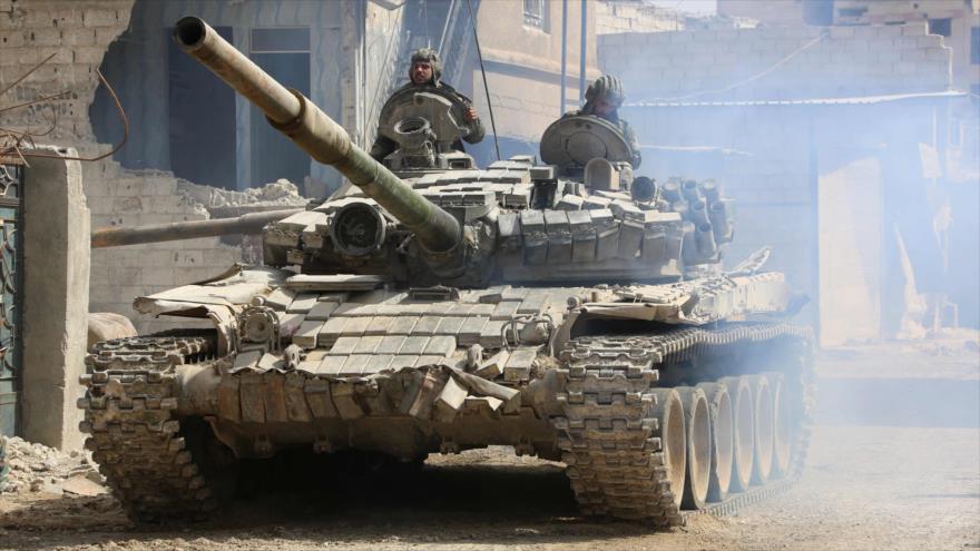 Ejército sirio penetra en Duma, ultimo feudo terrorista en Guta