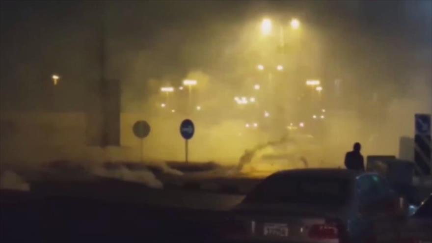 Fuerzas bahreiníes reprimen marcha pacífica en contra de la Fórmula 1