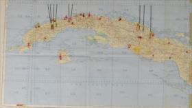 Subastan mapa de operaciones de EEUU contra URSS en Cuba