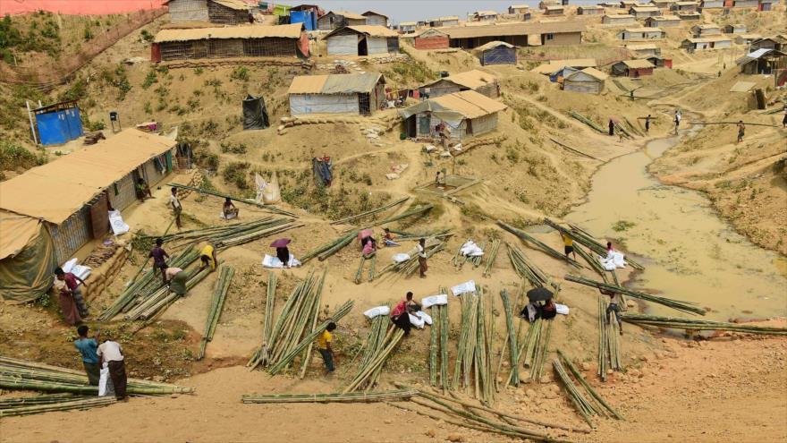 ONU: Situación no es propicia para el retorno de rohingyas a Myanmar